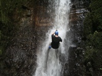 Canyon Rappelling in Costa Rica